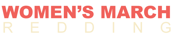 Women's March   Redding, CA   2019 Logo